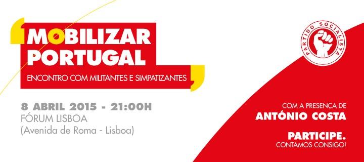 Mobilizar Portugal   Plenário de Militantes com António Costa