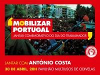 Dia 30 de abril | 20h | Pavilhão Multiusos de Odivelas