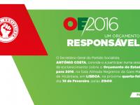 Debate sobre o OE'2016 com António Costa