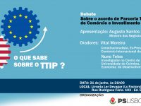 Debate | Parceria Transatlântica de Comércio e Investimento – TTIP